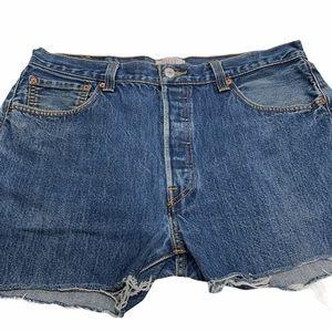 Vintage Levi's 501 High Waist Cutoff Jean Shorts